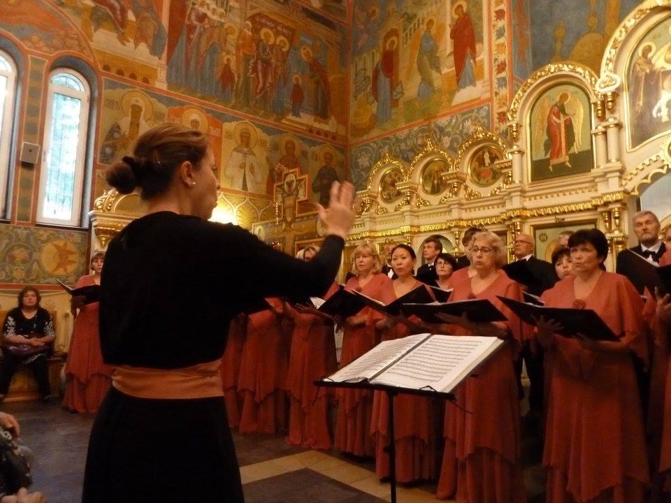 Credo en concert à l'église de Joukovsky - août 2017
