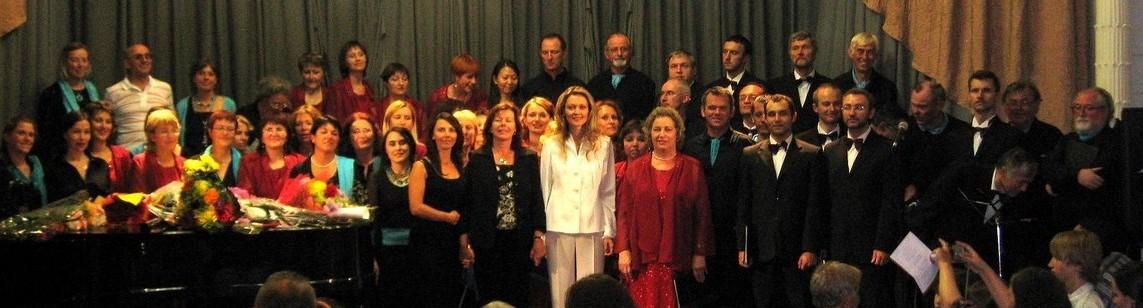 Credo et Choréa d'Ys en concert à Joukovsky en 2008